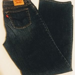 Levi 512 Perfectly Slimming Jeans